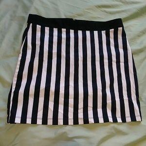 F21 Striped Mini Skirt!!